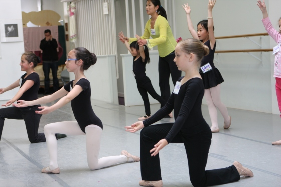 Photo: Chinese Dance Workshop